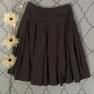 Chocolate Craving A Line Skirt by Boden